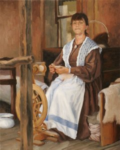 The Spinster © L. Lawrence Bispo