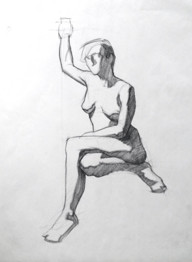 20 minute figure drawing